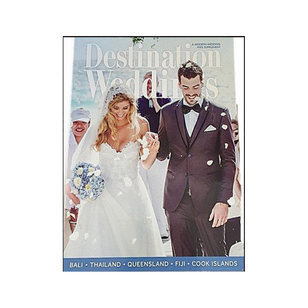wedding magazine cover sheridyn fisher