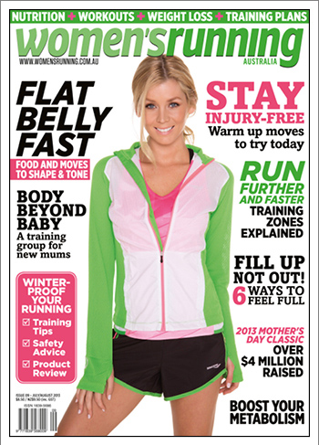 Women's Running Magazine Sheridyn