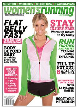 Women's Running Magazine Sheridyn