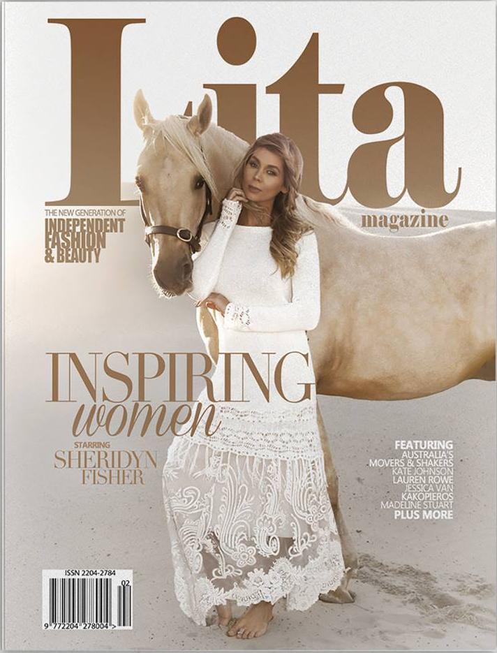 Lita Magazine Cover Sheridyn Fisher