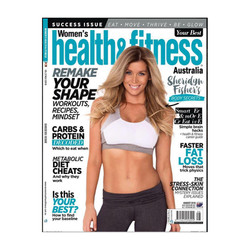 womens health and fitness cover sheridyn fisher