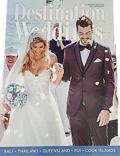 Wedding Magazine Cover Sheridyn