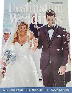 Wedding Magazine Cover Sheridyn