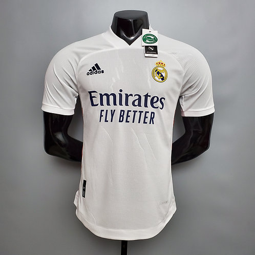 Real Madrid Home Player Version Jersey 20/21