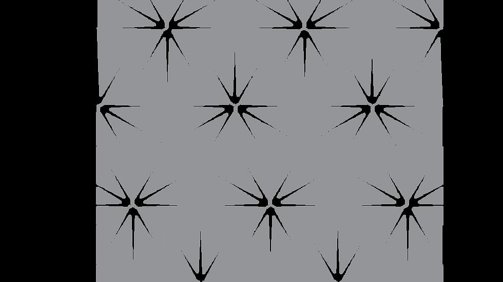Lilly pad Encauestic pattern