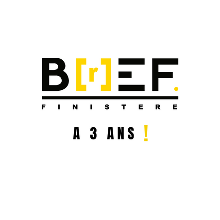 B[r]EF a 3 ans. / B[r]EF is 3 years old.