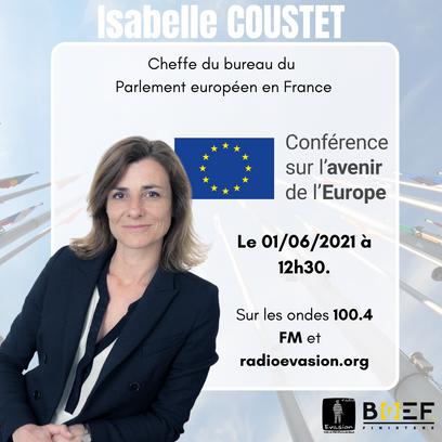Isabelle Coustet : la Conférence sur l'avenir de l'Europe
