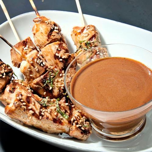 Chicken Satay, Peanut Sauce