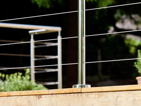 Wire Infill Balustrade