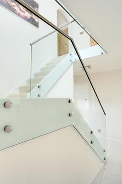 Glass Stair Balustrade
