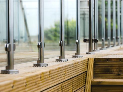 Glass Infill Balustrade