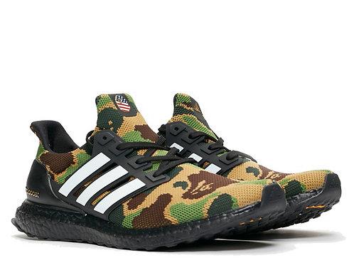 Adidas Ultra Boost 4.0 BAPE Camo Green