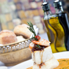 Chilean Sea Bass served with Caramelized