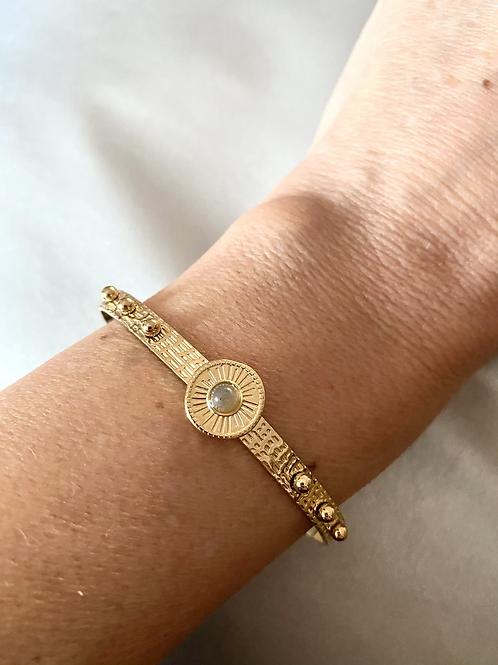Bracelet jonc Leonore