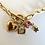Thumbnail: Collier ou bracelet les merveilles 2