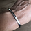 Thumbnail: Bracelet message argenté