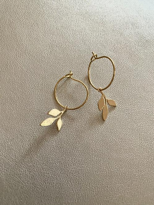 Mini-créoles feuilles
