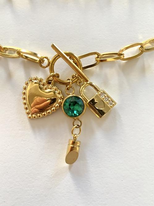 Collier ou bracelet double les merveilles