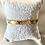 Thumbnail: Bracelet message doré