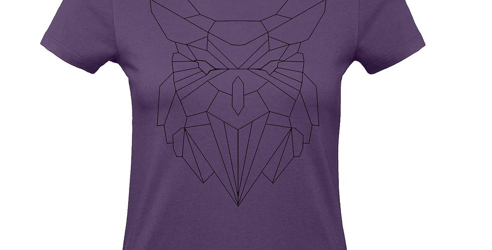 Damenshirt 'GeometriX Eule'