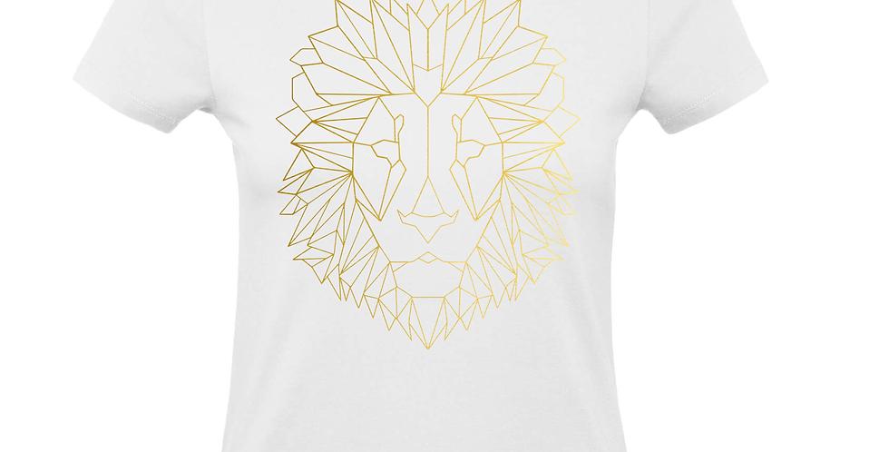Damenshirt 'GeometriX Löwe'