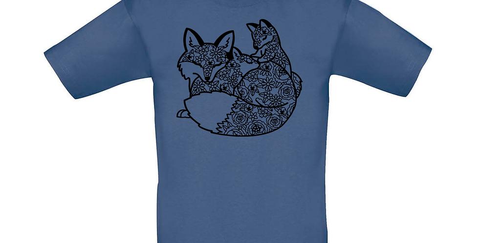 Kindershirt 'Füchse'