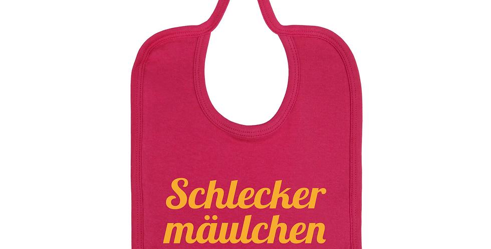 Baby Lätzchen 'Schleckermäulchen'