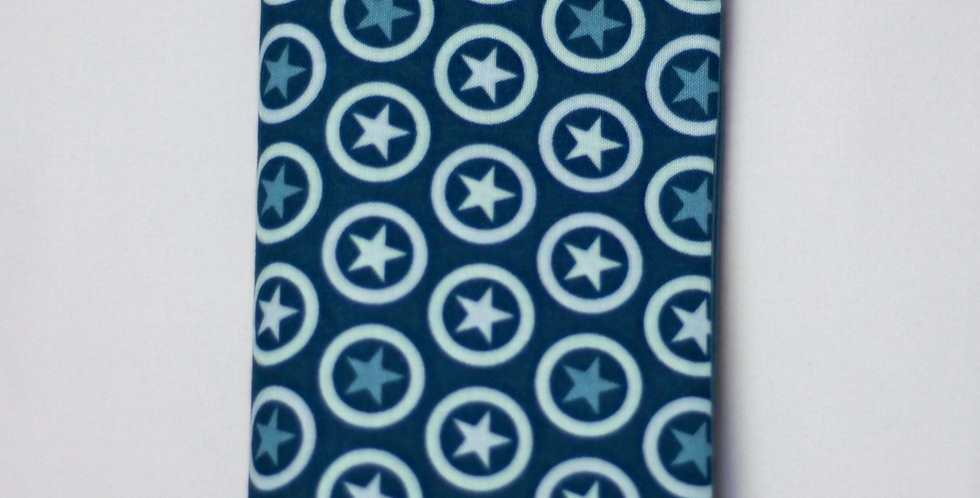 Mutter-Kind-Pass Hülle 'Blue Stars'