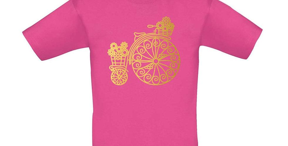 Kindershirt 'Vintage Rad'