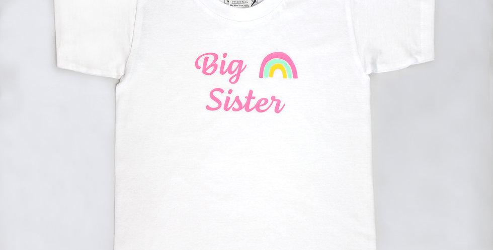 Kindershirt 'Big Sister/Little Sister'