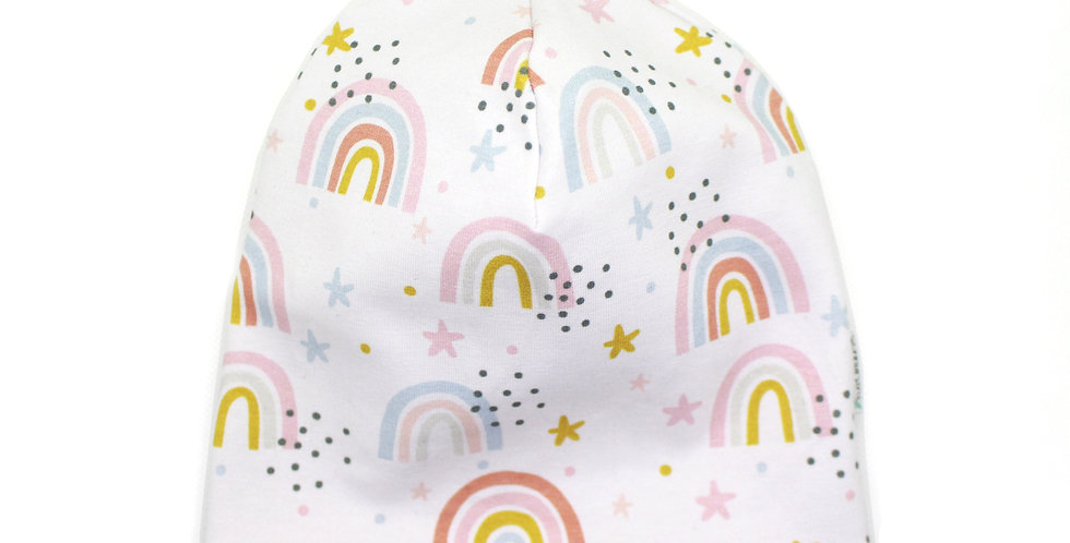 Wende-Beanie 'Rainbows I'