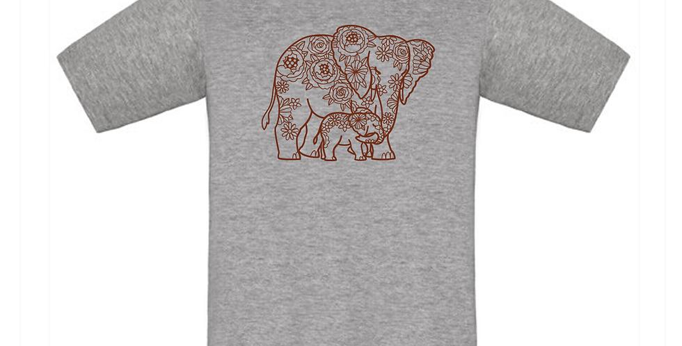 Kindershirt 'Elefanten'