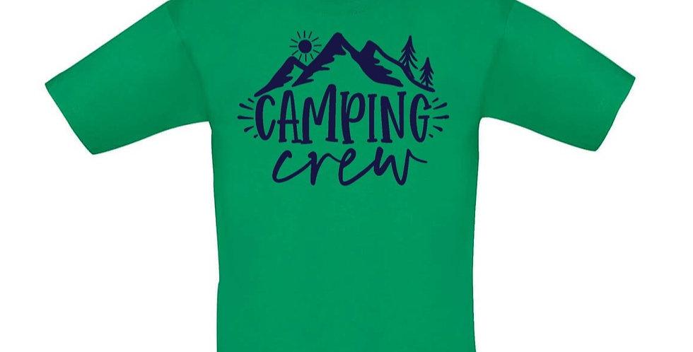 Kindershirt 'Camping Crew'
