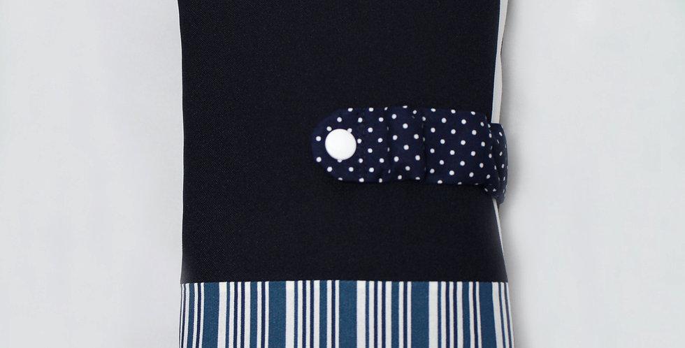 Wickelset 'Blue Stripes II'