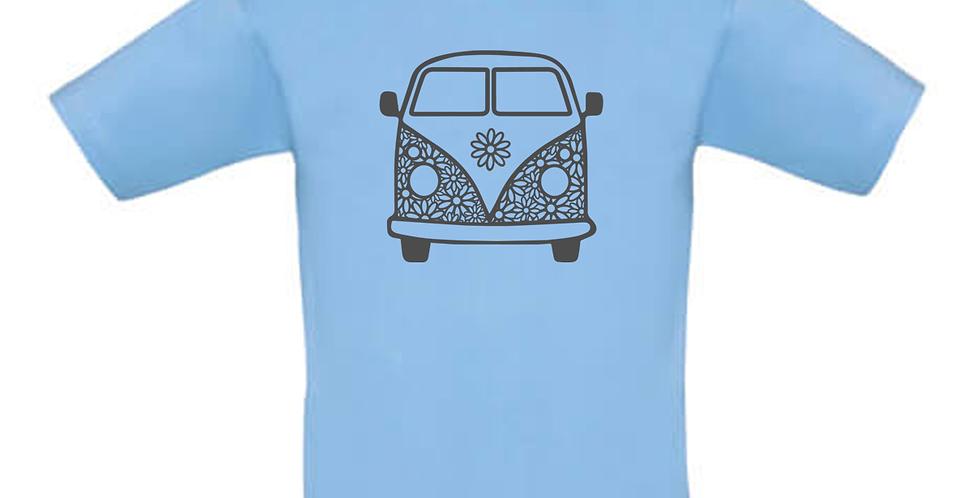Kindershirt 'Bus'
