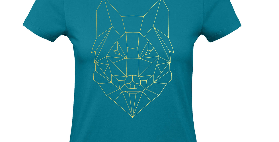 Damenshirt 'GeometriX Wolf'