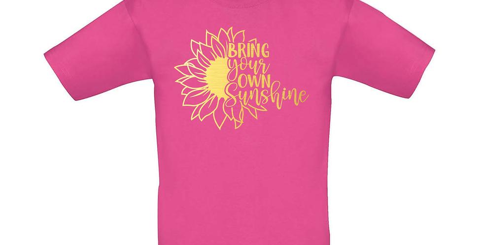 Kindershirt 'Bring Sunshine'