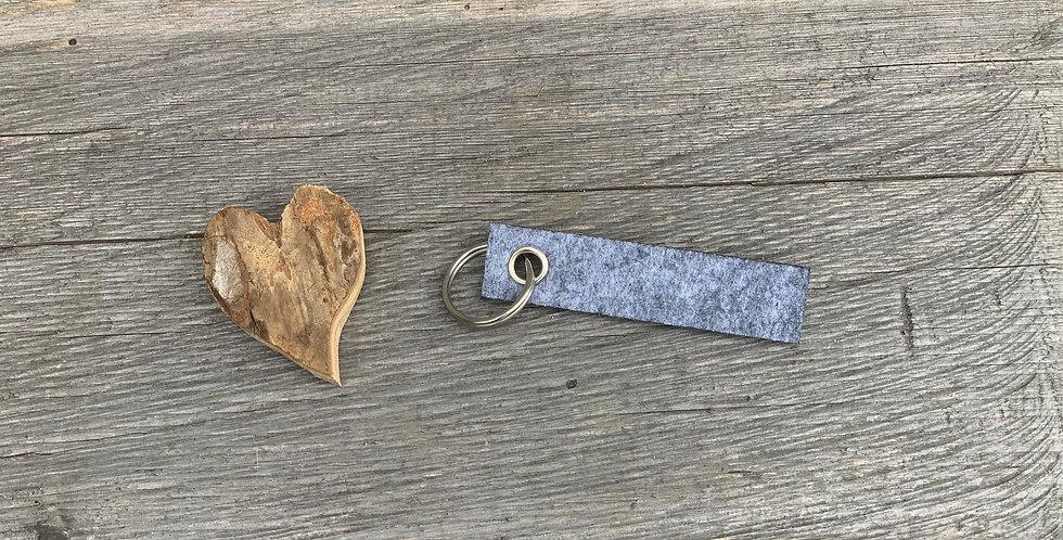 Schlüsselanhänger Filz - klein