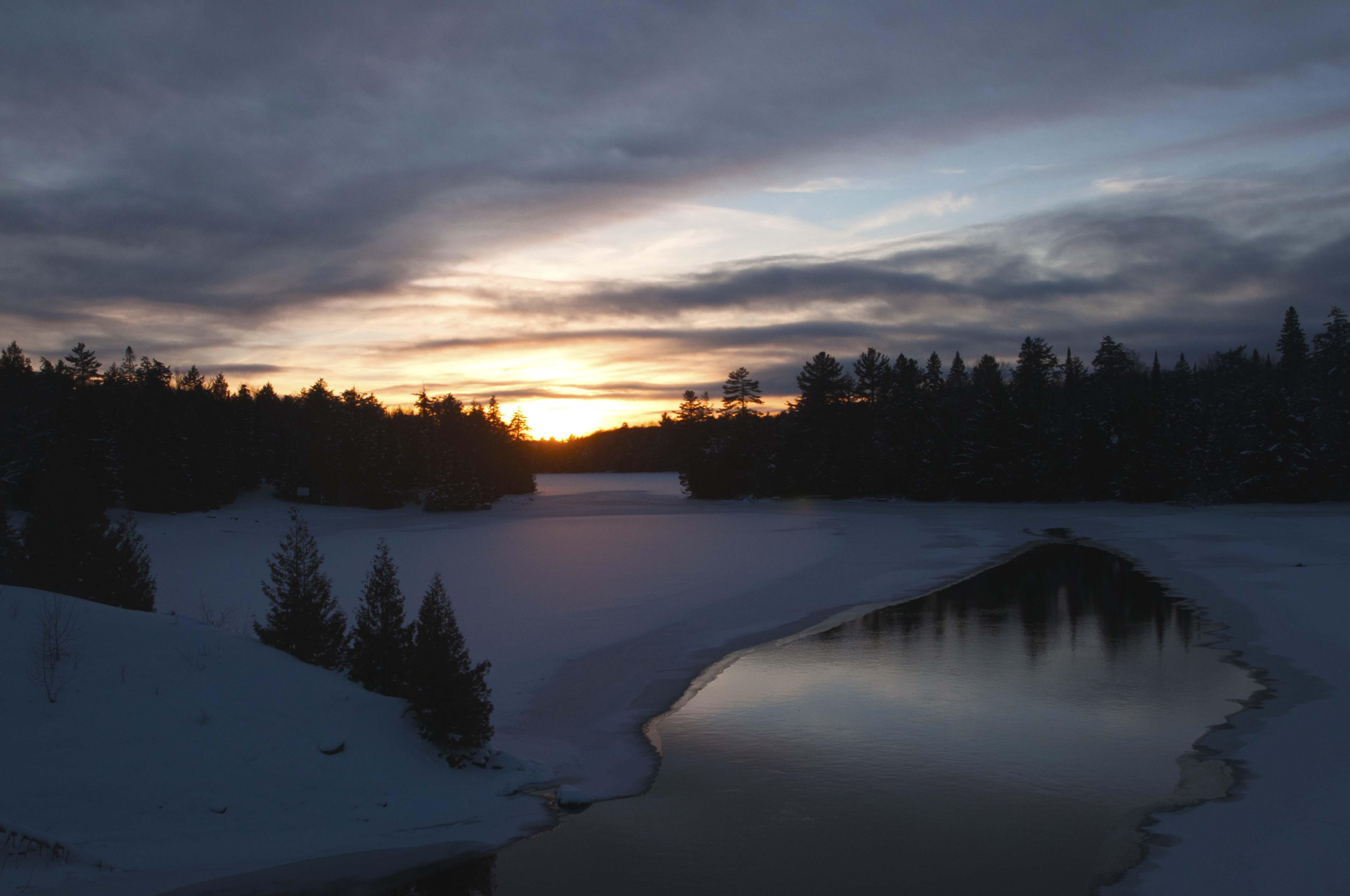 Algonquin park sunset