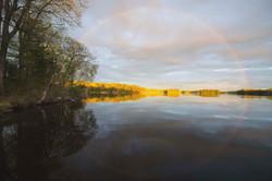 Butterfly Lake rainbow
