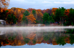 Butterfly Lake colors in fall