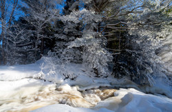 Arrowhead Park snow rapids