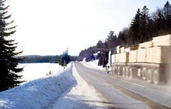Algonquin Park road