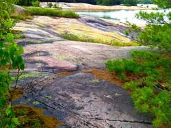 Parry Sound rock colors