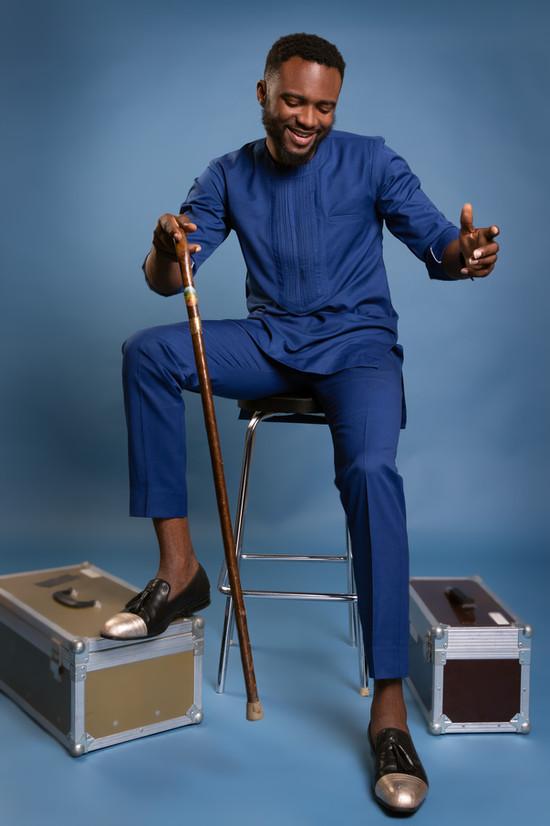 Afro male portrait