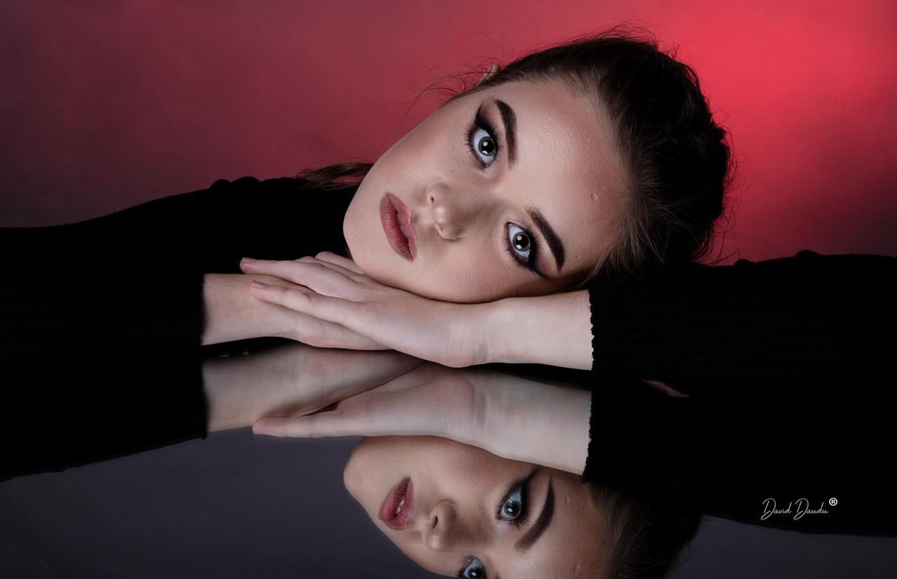 Creative beauty portrait