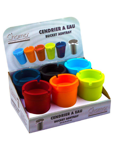 Champ Bucket Ashtray - Assorted Colours
