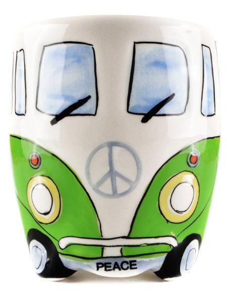 Camper Van Bus Ceramic Mug