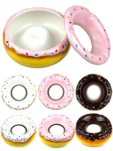 Ceramic Doughnut Ashtray