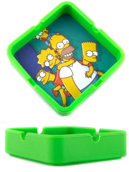 Bounce Character Silicone Square Ashtray